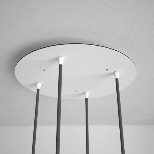 Okrúhla-stropná-rozeta-35-cm-so-4-otvormi-kovová-biela-farba-1