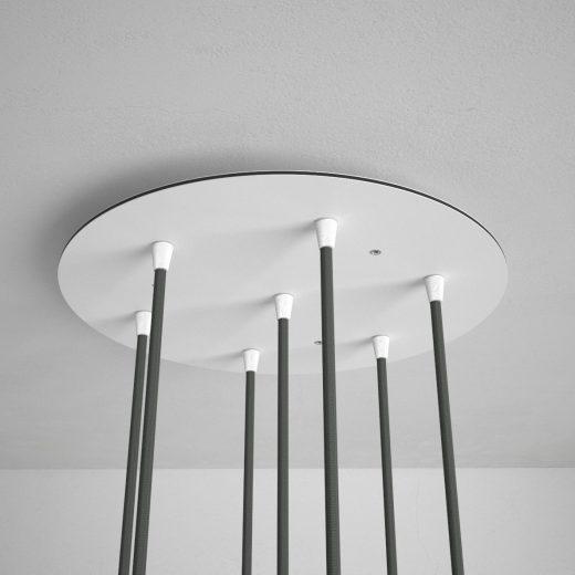 Okrúhla-stropná-rozeta-35-cm-so-7-otvormi-kovová-biela-farba-4
