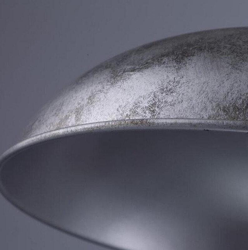 Retro závesné svietidlo America so striebornou vintage úpravou (4)