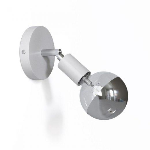 Jednoduchá ale efektná, ideálne riešenie pre jednoduché vytvorenie stropnej alebo nástennej lampy