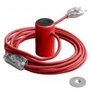 Magnetické svietidlo Magnetico®-Plug, červená farba (2)