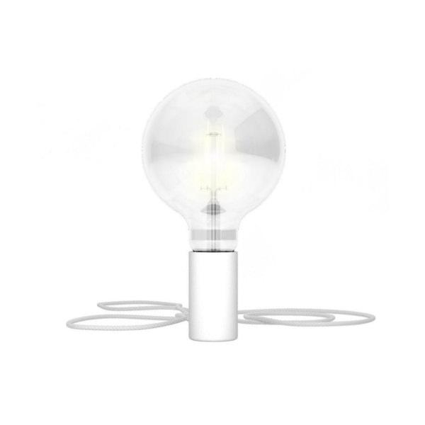 Magnetické svietidlo Magnetico®-Plug, biela farba (1)