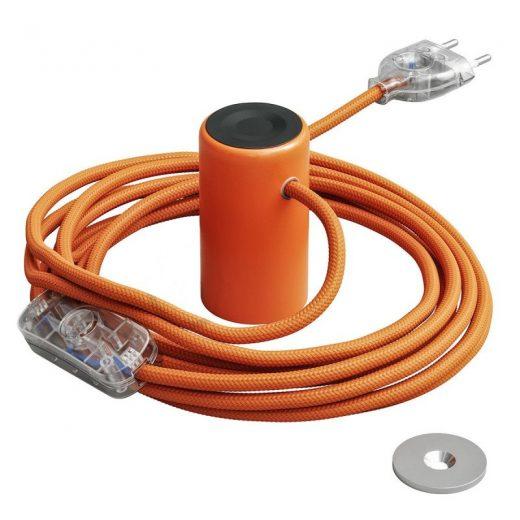Magnetické svietidlo Magnetico®-Plug, pomarančová farba (2)