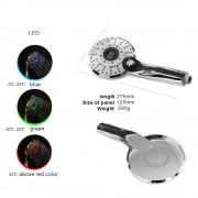 Sprchová hlavica s LED podsvietením a digitálnym teplomerom, 3 funkcie (4)