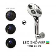 Sprchová hlavica s LED podsvietením a digitálnym teplomerom, 3 funkcie (9)