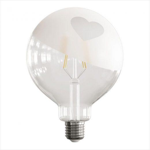 LED žiarovka Filament - Tattoo Lamp® Cuore, 4W, E27, 420lm (2)
