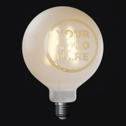 LED žiarovka Filament - Tattoo Lamp® Vaše logo, 4W, E27, 420lm (2)
