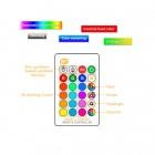 LED RGB žiarovka na diaľkové ovládanie, 16 funkcií, 8W, GU10 (6)