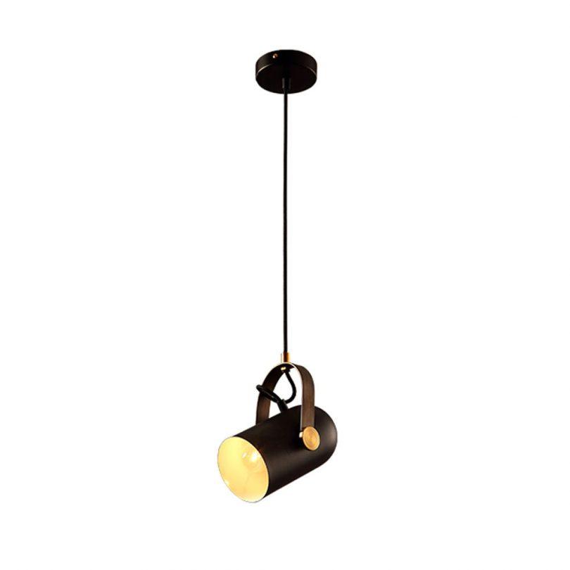 Nastaviteľná retro visiaca lampa v post modernom štýle, retro lampy