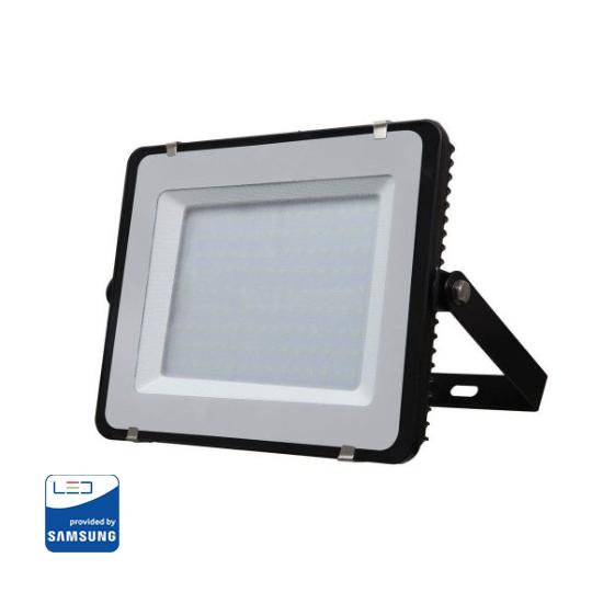 LED Reflektor 150W so SAMSUNG čipom, čierny, Teplá biela, 3000K, 12000lm