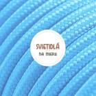 Kábel-dvojžilový-v-podobe-textilnej-šnúry-v-modrej-farbe