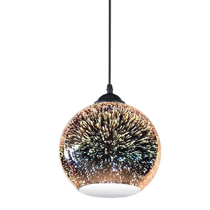Moderné závesné svietidlo z kolekcie 3D Fireworks, priemer 25cm