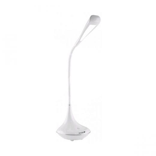 Stolná LED lampa s Bluetooth reproduktorom, 4W, 250lm, biela farba (3)