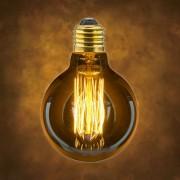 Vintage dekoračná žiarovka v retro štýle, SHINES, E27, 40W, 140lm (2)