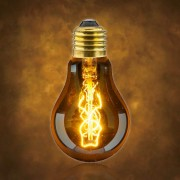 Vintage dekoračná žiarovka v retro štýle, SPIRAL CLASSIC, E27, 40W, 140lm (2)