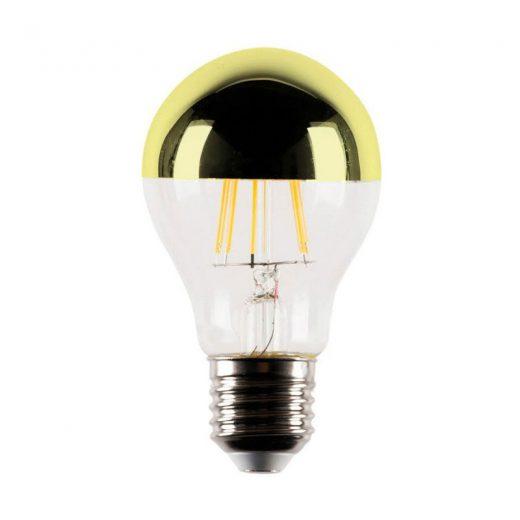 Zrkadlová dekoračná žiarovka 4W, E27, 4000lm, CLASSIC, Zlatá (1)