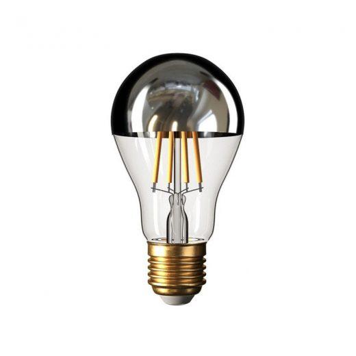 Zrkadlová dekoračná žiarovka 7W, E27, 806lm, CLASSIC, Strieborná, Stmievateľná (2)