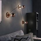 Zrkadlová dekoračná žiarovka 7W, E27, 806lm, GLOBUS, Medená, Stmievateľná (3)