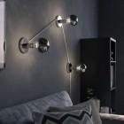 Zrkadlová dekoračná žiarovka 7W, E27, 806lm, SPHERE, Strieborná, Stmievateľná (3)