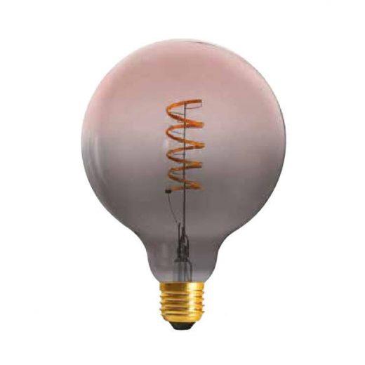 Edison Soft žiarovka BLACK-TRANSPARENT SPHERE - E27, 4W, 150lm, Stmievateľná (1)