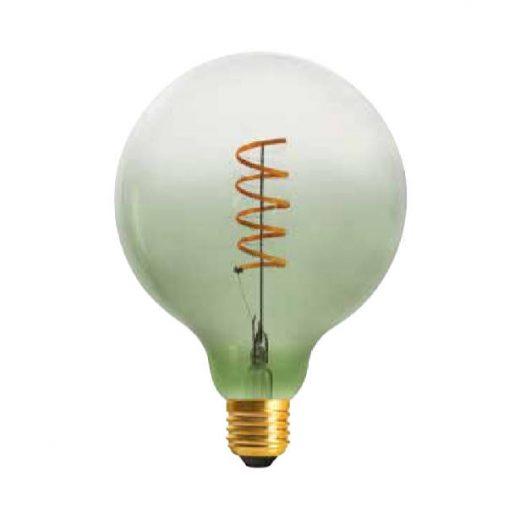 Edison Soft žiarovka GREEN-TRANSPARENT SPHERE - E27, 4W, 150lm, Stmievateľná (2)