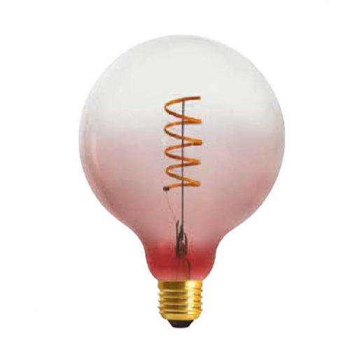 Edison Soft žiarovka PINK-TRANSPARENT SPHERE - E27, 4W, 150lm, Stmievateľná (2)