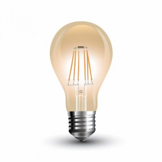 FILAMENT žiarovka - Classic - E27, 4W, 350lm, Teplá biela