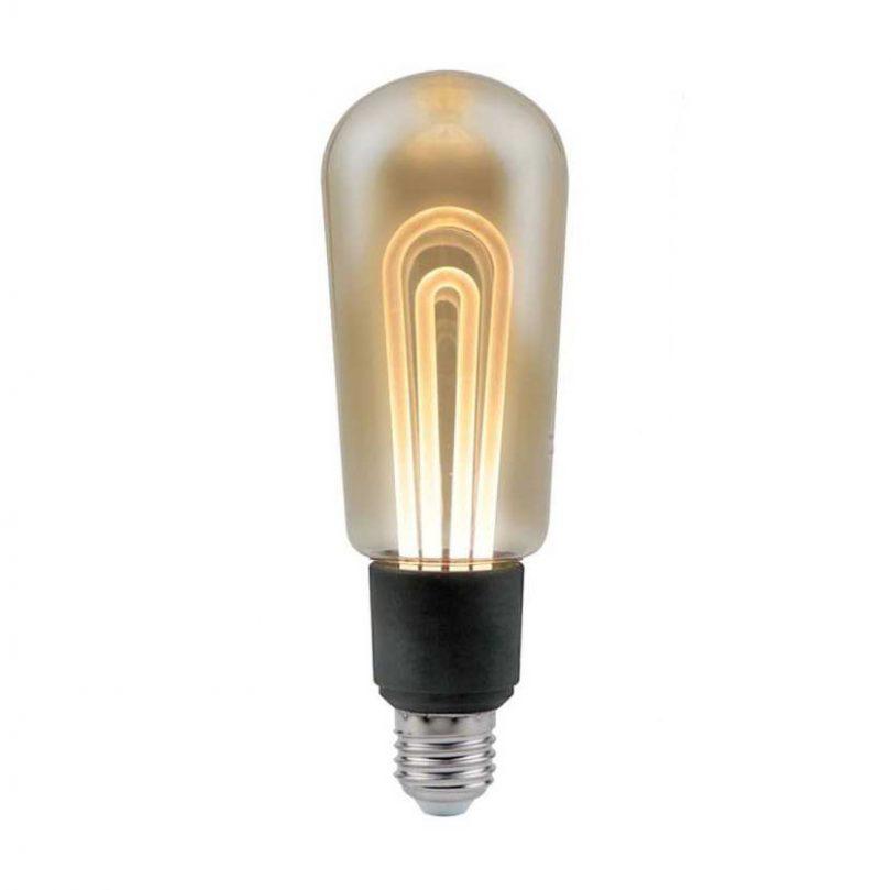 LED žiarovka T60 Filament - MODERN - E27, 5W, 250lm, Teplá biela