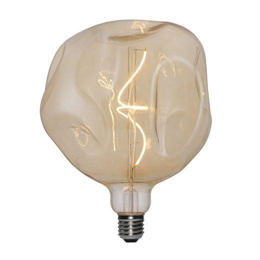 Vintage Filament žiarovka LUXURY, zlatá - 5W, E27, 250lm, Stmievateľná, Teplá biela