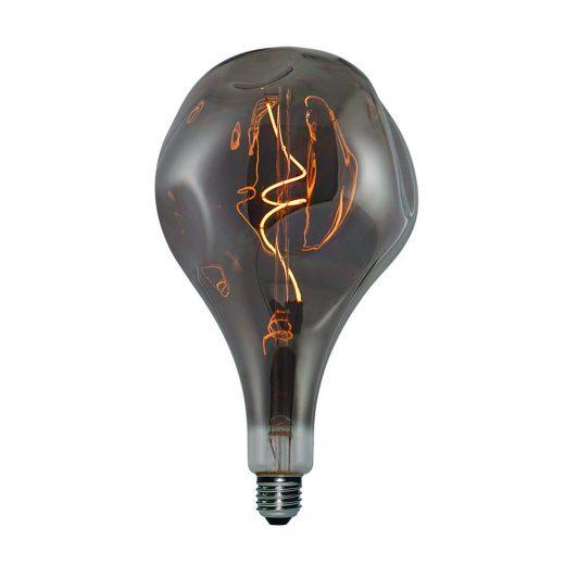Vintage Filament žiarovka ELEGANCE, dymová - 5W, E27, 150lm, Stmievateľná, Teplá biela | Daylight Italia