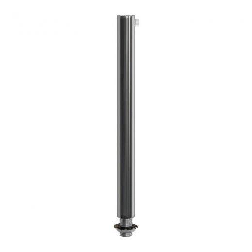 Kovový zámok na odľahčenie kábla 15cm • samica • chrómová farba