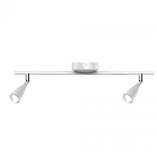 Luxusné 9W LED nástenné svietidlo WHITE WALL, teplá biela