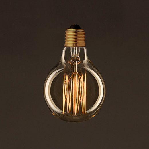 EDISON žiarovka - SHINES - E27, 25W, 60lm