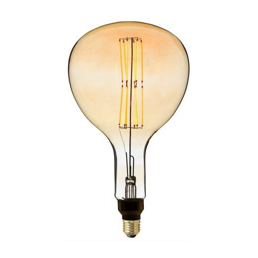 Retro žiarovka XXL WAVE so zlatistým sklom – 4W, E27, Stmievateľná, 130lm
