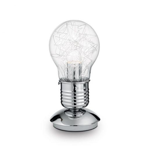 Kreatívna LED stolová lampa v tvare žiarovky LIGHT MAX TL1 | Ideal Lux
