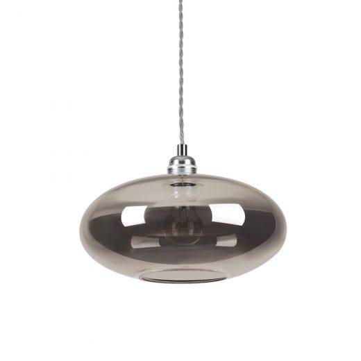 Sklenené závesné svietidlo BLOB SP1 FUME| Ideal Lux