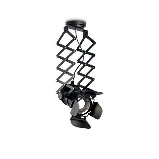 Stropné reflektorové svietidlo v štýle retro reflektora MOVIE PL1 | Ideal Lux
