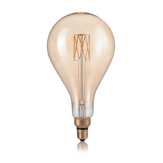 XXL žiarovka, VINTAGE XL, E27, 8W, GOCCIA, 400lm, Teplá biela | Ideal Lux