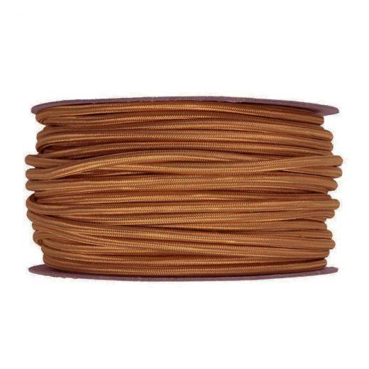 Kábel-dvojžilový-v-podobe-textilnej-šnúry-vo-Whiskey-farbe-2-x-0.75mm-1-meter