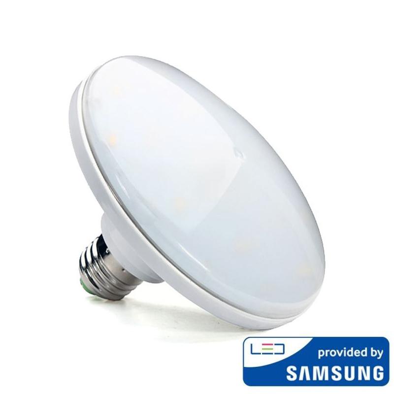 LED Žiarovka UFO so SAMSUNG čipom, E27, 15W, Teplá biela, 1200lm
