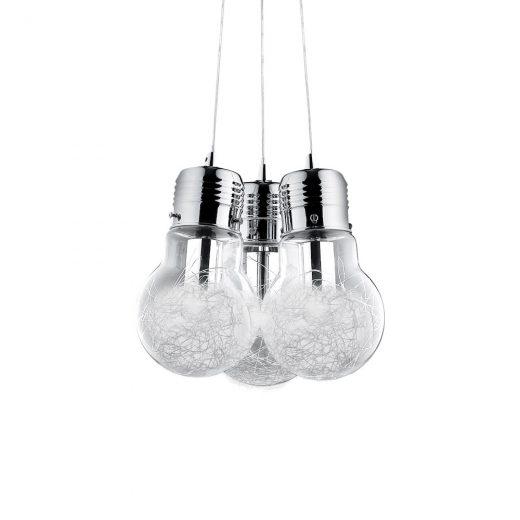 Luster s dizajnom žiaroviek LUCE MAX SP3