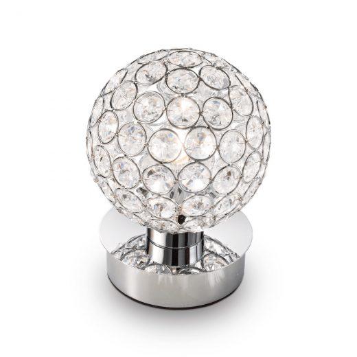 Stolná mini lampa ORION TL1 v chrómovej farbe | Ideal Lux