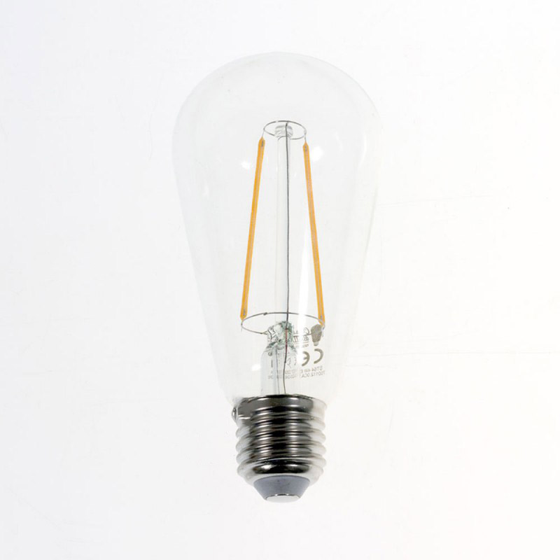 LED žiarovka FILAMENT ST64 - 4W, E27, 420lm, 2200K