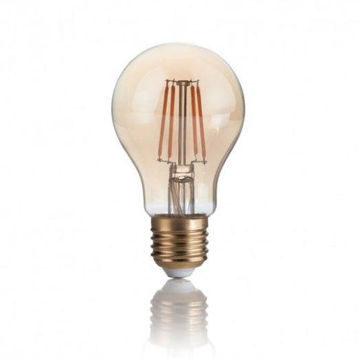 Žiarovka Filament CLASSIC so zlatým sklom, E27, 4W, 300lm, Teplá biela   Ideal Lux