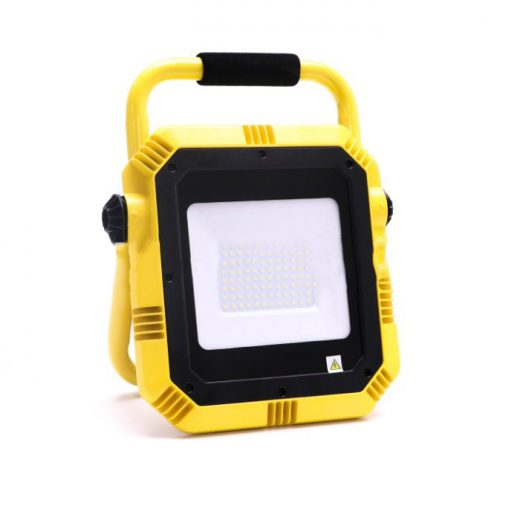 50W LED Reflektor so SAMSUNG čipom, EU zástrčka, 4000lm, Denná biela