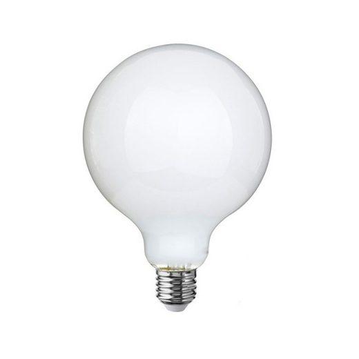 LED žiarovka s mliečnym sklom - G95 - E27, 7.5W, 806lm, Teplá biela, Stmievateľná