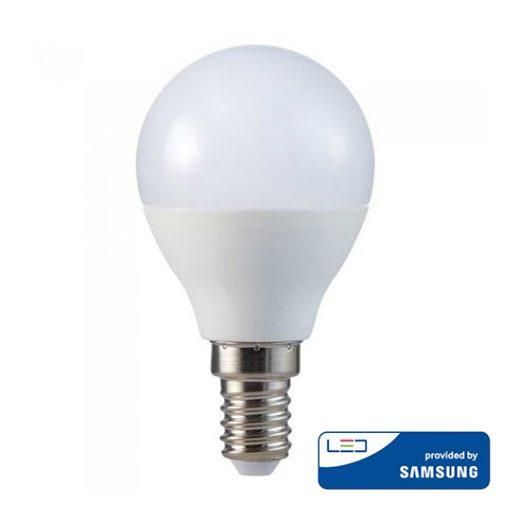 Žiarovka LED SAMSUNG čip - E14, 4.5W