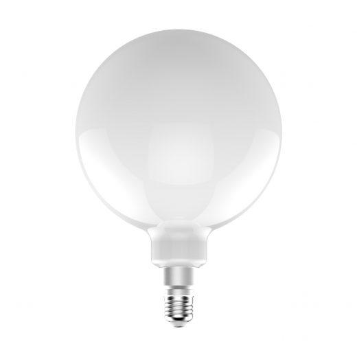 LED Žiarovka XXL G200 s mliečnym sklom – 12W, E27, Stmievateľná, 1521lm   Daylight Italia