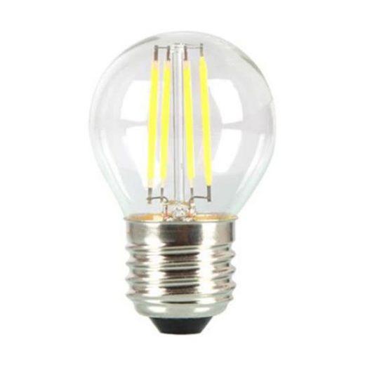 MINI FILAMENT žiarovka, E27, Studená biela, 4W, 400lm, V-TAC