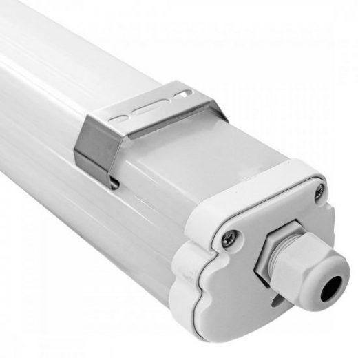 Stropné a nástenné pracovné svietidlo vhodné pre vonkajšiu inštaláciu, 4500K, 1440lm, 60cm